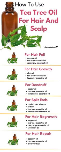 Tea tree oil help promote hair growth, reduces hair fall and provide essential nutrients to scalp and hair. Check out how to use tea tree oil for healthy scalp and hair.