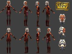 The model itself came from the Clone Wars Adventures MMO, which recently shut down close to a month ago. Description from wisedrow.tumblr.com. I searched for this on bing.com/images