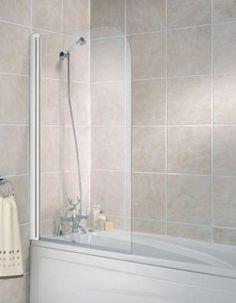 Wickes Half Bath Screen White Frame 1400mm   Wickes.co.uk - £62.99 good reviews