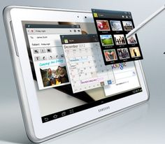 Samsung unveils Galaxy Note tablet Samsung has taken the wraps off its powerful octa-core Galaxy Note tablet. Samsung Galaxy Note Tablet, Galaxy Note 7, Tablet Phone, Galaxy Phone, Smartphone, Touch Screen Technology, Easy Clip, Samsung Mobile, Jelly Beans