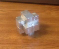 An Aluminum Burr Puzzle CNC Mill