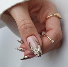 Aycrlic Nails, Chic Nails, Glam Nails, Stylish Nails, Nail Manicure, Hair And Nails, Fabulous Nails, Perfect Nails, Gorgeous Nails