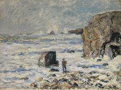 Maxime Maufra (French, 1861-1918)  Stranger on the Brittany coast (Inconnu sur la côte bretonne), N/D
