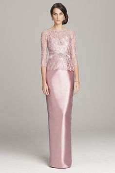 Pink Mother of the Bride or Mother of the Groom Dress by Teri Jon | Featured on Dress for the Wedding