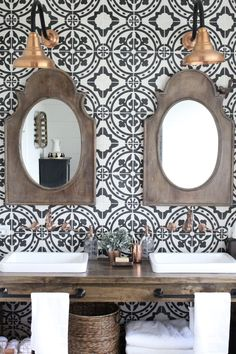 Cement tile wall | My Life From Home