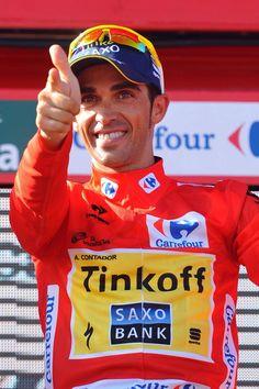 LaVuelta 2014 Alberto Contador (Tinkoff-Saxo) Photo credit © Tim de Waele/TDW Sport