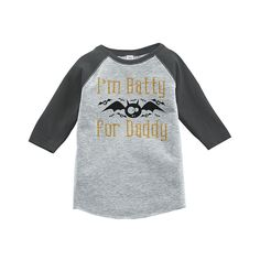 Custom Party Shop Youth Batty for Daddy Halloween Shirt