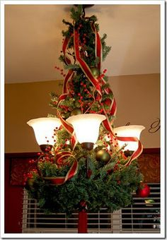 Chandelier Holiday Decor