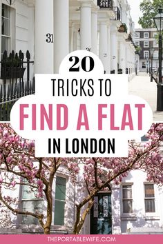 Moving to London soon? Beautiful London apartments are notoriously hard to find. But with these London flat hunting tips, you'll have no trouble renting in London! Kickstart your London life with a little help from these moving to the UK tips for expats and those new to living in London. | Moving to London checklist | London expat blog | London lifestyle | How to move to London | Moving to England | London expat life | Moving to London from Canada | Moving to London from US | Moving to the…