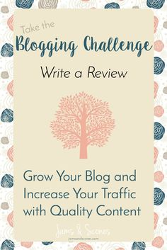 Search Engines don't start to take notice of your site until you have a good base of content.  When you are a new blogger it can be a challenge to create a lot of posts quickly.  This challenge is designed to get you a variety of posts up on your blog quickly so you can increase your traffic and get your blog seen.