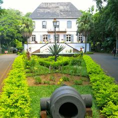 #MAURITIUS Locations in my #BOOKS from http://www.snowbeachpublications.com/ photo: Mahebourg museum