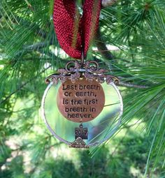 Death of Family Member. Personalized Christmas Ornaments, Holiday Ornaments, Glass Ornaments, Christmas Bulbs, Gifts For Brother, Gifts For Mom, Loss Of Loved One, Glass Showcase, Lupe