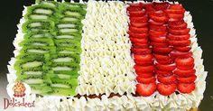 Torta tricolore per la Festa della Repubblica
