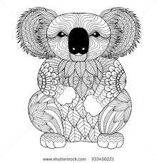 Risultati Immagini Per Illustration Of Animal Riding A Koala Pagine Da Colorare Per Adulti Disegni Da Colorare Idee Per Disegnare