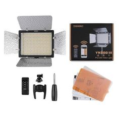 Yongnuo YN300 III 5500K CRI95+ Pro LED Video Light For Canon Nikon Camcorder