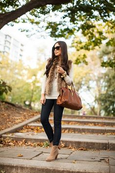 Kat Tanita of With Love From Kat wears Joie Jeans + the Joie Dalton Booties