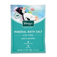 Kneipp Stay Cool Mineral Bath Salt 2 1 Oz