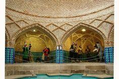 Qjr bath - Anthropology Museum Qjr (Qjr bath), #Qazvin Province, #Iran | travel to Iran with @surfingpersia