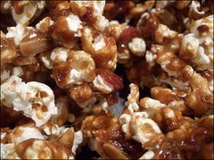 Bacon Caramel Corn -- Yes ma'am.  May I have another??