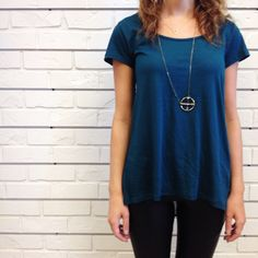 Crisp Alpine . #casual #comfy #pretty #fall #fashion #teal #hunnistyle