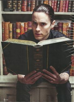 Imagine walking into the back corner of a library and finding Leto