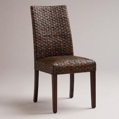 One of my favorite discoveries at WorldMarket.com: Malia Woven Chairs, Set of 2 $199.98
