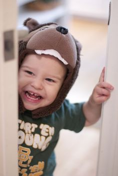 Start 'em young, raise 'em right! What an adorable future Baylor Bear!