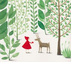 Little Red Riding Hood by Anna Walker