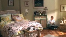 The room in which Kathleen Kelly sent many emails to work-rival-turned-true-love Joe Fox from in this 1998 flick, is located on the Upper West Side. It has the cutest cottage decor – so basically this is every woman's dream bedroom.   - CountryLiving.com