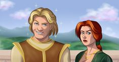 Princess Fiona not amused with Prince Charming as he pretends to be Shrek Dreamworks Skg, Dreamworks Movies, Dreamworks Animation, Disney And Dreamworks, Princess Fiona, Princess Zelda, Shrek Prince, Making Waffles, Victorian Art