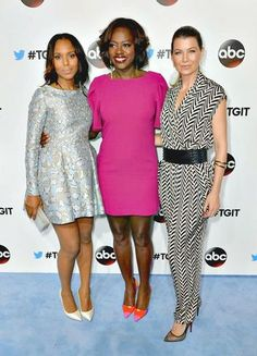 The Best 20 Photos From the Casts of Scandal, Grey's Anatomy, and How to Get Away With Murder