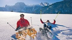 Schneeschuhwandern durch das #SalzburgerLand verspricht unvergessliche Wintererlebnisse und atemberaubende Eindrücke