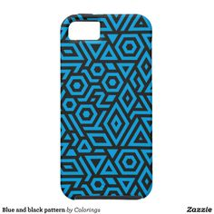 Blue and black pattern #iphonecase #iphonecases
