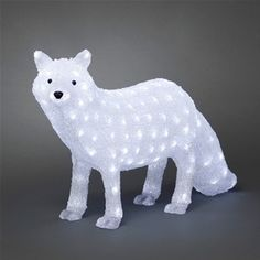Konstsmide 6183-203 Acrylic Christmas LED Polar Fox