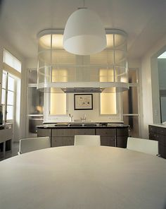 Kitchen in a Parisian home by Andrée Putman - 2003.