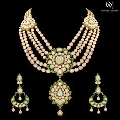 Photo From 2018 - By Balkishan Dass Jain Jewellers Indian Jewellery Design, Indian Jewelry, Jewelry Design, Beaded Necklace, Album, Jewels, Bridal, Inspiration, Fashion