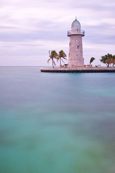 "Biscayne Bay National Park in Florida."" Visited this lighthouse and the park often when we anchored off Key Biscayne. used to roller skate from the Presbyterian Church to the park-BGS Dream Vacations, Vacation Spots, Vacation Ideas, Floride Usa, The Places Youll Go, Places To See, Biscayne National Park, Grands Lacs, Magic Places"