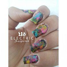 Just Some Things I Like — Besitos de la suerte nail art on Instagram:...