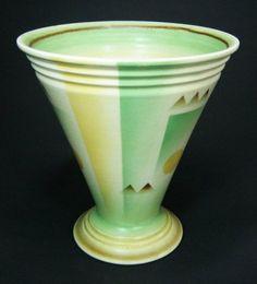 V&B Wallerfangen art deco vase
