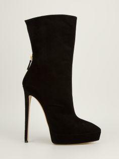 CASADEI - Ankle boot preta. 7