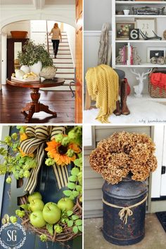 A few easy ways to gently ease your home decor into the Fall season by Atkinson Drive /// Transitional Fall Decor /// Early Fall Home Autumn Decorating, Decorating Ideas, Decor Ideas, Fall Vacations, Fall Projects, Diy Projects, Autumn Crafts, Happy Fall Y'all, Autumn Theme