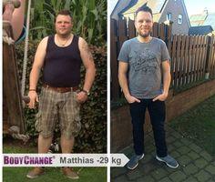 BodyChanger Matthias hat mit BodyChange -29 kg abgenommen