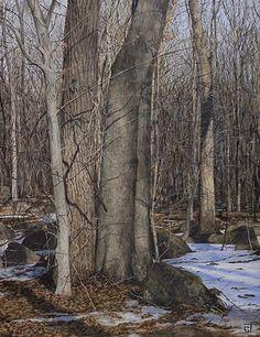 Jeff Gola: Egg tempera paintings