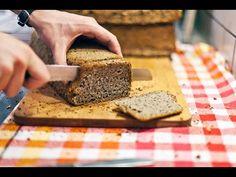 Rezept: Glutenfreies Powerbrot (100% vegan, 100% frei von Gluten) - YouTube