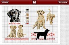 Cross stitch - Dogs v2.0 - 2/7 - Đường khâu (Chó)