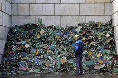 Only 12.5% of the 20-50 million metric tons of e-waste generated annually gets recycled.