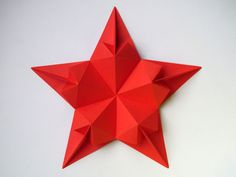 Origami foto Stella di cuori - Star of hearts by Francesco Guarnieri