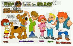 """""""A Pup Named Scooby Doo"""" Main Models Size Comparison Scooby Doo Tv Show, Scooby Doo Kids, Scooby Doo Images, Cartoon Characters As Humans, Comic Book Characters, Hanna Barbera, Scooby Doo Mystery Incorporated, Nostalgia, Cartoon Shows"""
