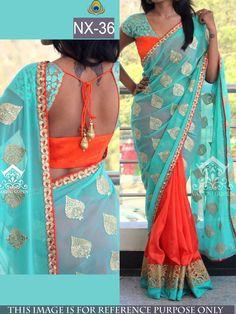 Stylish Designer Party Wear Saree Promo Code- Eid10 Shop now at www.ethnicbella.com