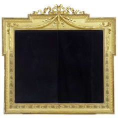 Early 19th Century Regency Carved Gilt Wood Mantle Mirror | From a unique collection of antique and modern mantel mirrors and fireplace mirrors at http://www.1stdibs.com/furniture/mirrors/mantel-mirrors-fireplace-mirrors/